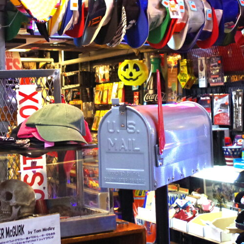 【送料無料】郵便ポストおしゃれスタンドタイプポールセット郵便受けポストポール式スチール前入れアメリカンデザイナーズスタンド郵便受け箱かわいいポール黒■スチールルーラルメールボックス
