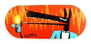 【メール便送料無料】 【ステッカー】SHAG ステッカータバコウルフシャグ ■ シャグ アメリカン雑貨 【あす楽対応】