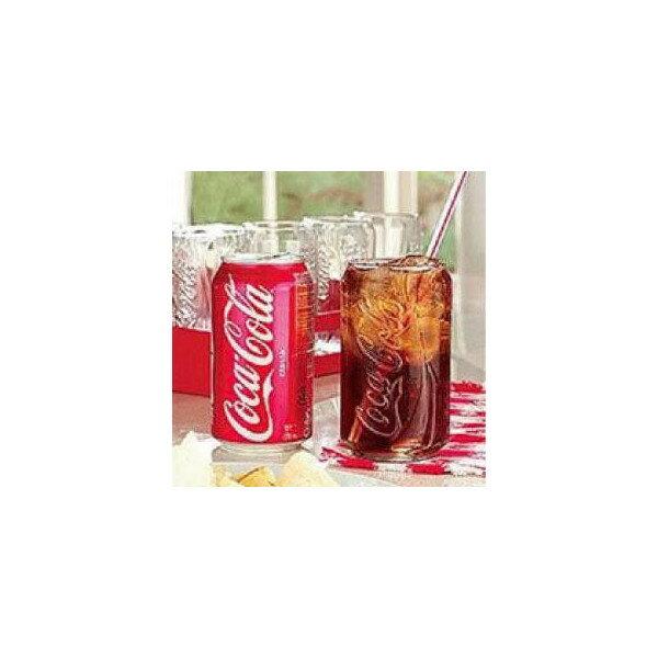 コカコーラカングラス ■ 缶型 グラス アメリカン雑貨 【あす楽対応】