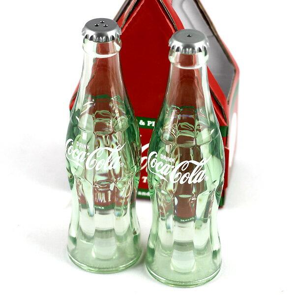 【コカコーラ ソルト&ペッパー】 塩コショウ 瓶型 ビン コンツァーボトル アメリカン雑貨 【あす楽対応】