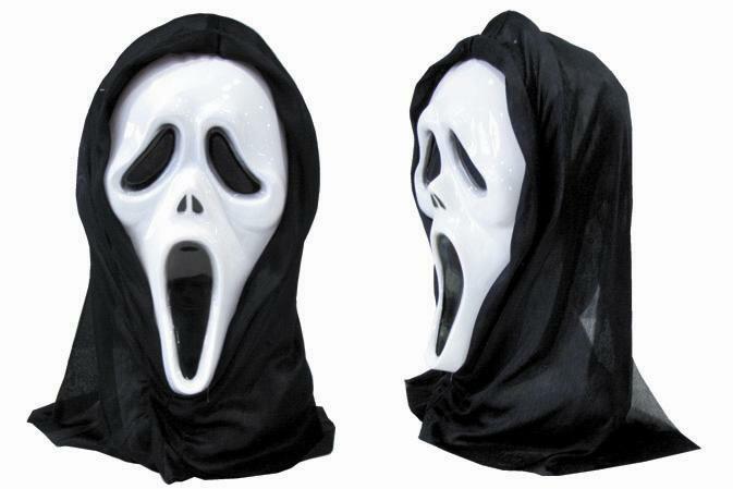 スクリームマスク ■ お面 ホラー コスプレ ハロウィン アメリカン雑貨 【あす楽対応】