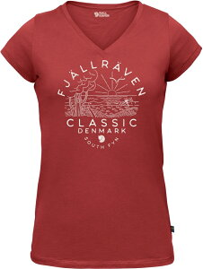 Fjallraven フェールラーベン Classic DK T-Shirt W Tシャツ
