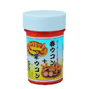 春ウコン+紫ウコン粉〔100g〕|クルクミン豊富で注目の春ウコンのとダイエットで注目の紫ウコン
