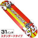31インチスケートボード (デザイン/YWLINE) RIPSLIDE(リップスライド)