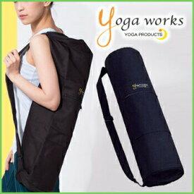 ヨガワークス マットバッグ yogaworks★マットバッグ マットケース ヨガバッグ ヨガマット ケース バッグ ピラティス エクササイズ 大容量 初心者用 3.5mm〜6mm対応 Yoga works《YW-F504/YW11154》「OS」: