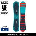 即日発送 2017 BURTON バートン スノーボード 板 プロセス フライング V PROCESS FLYING V 【板】 MENS お買い得!