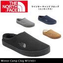 即日発送 【ノースフェイス/THE NORTH FACE】 靴 ウインター キャンプ クロッグ(ユニセックス) Winter Camp Clog NF…