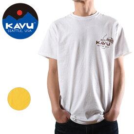 【楽天カード使用で最大P7倍!23日20時から】KAVU/カブー メンズ ポテト Tシャツ 19821064 【Tシャツ/半袖/セット/アウトドア】【メール便・代引不可】