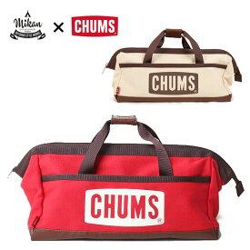 ●CHUMS×MIKAN ミカン Tool Box Bag ツールボックスバッグ CH60-2594 【ペグケース/マルチケース/ハンマー/アウトドア/コンテナ】