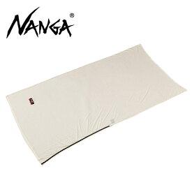 NANGA ナンガ メリノウールフウトウ型 シュラフシーツ 【寝袋/スリーピングバック/キャンプ/アウトドア】