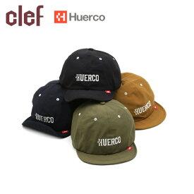 ●clef クレ Huerco×CLEFコラボ B.CAP HC002 【フエルコ/キャップ/釣り/アウトドア/キャンプ】【メール便・代引不可】