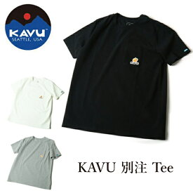 ●KAVU カブー × Orange 別注 Tee 【アウトドア/Tシャツ/半袖】【メール便・代引不可】