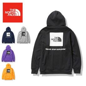 ●THE NORTH FACE ノースフェイス Back Square Logo Hoodie バックスクエアロゴフーディ NT62040 【パーカー/スウェット/トレーナー/アウトドア】【日本正規品】