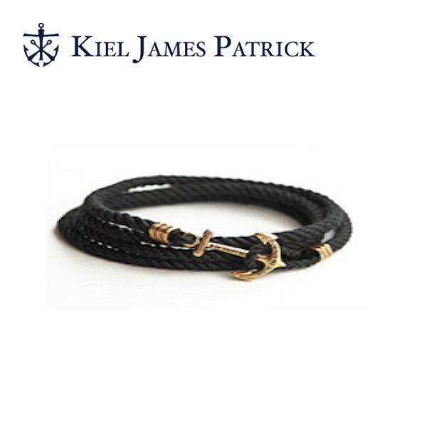 キールジェイムスパトリック KIEL JAMES PATRICK ロープ ブレスレット Lanyard Hitch Collection BLACK PEARL(BLK) LH-946-001【即日発送】