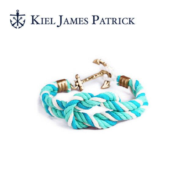 キールジェイムスパトリック KIEL JAMES PATRICK ロープ ブレスレット Triton Collection POOL TC-1244-334【即日発送】
