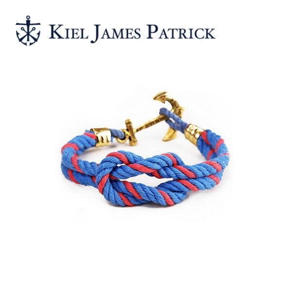 キールジェイムスパトリック KIEL JAMES PATRICK ロープ ブレスレット Triton Collection BAILEY TC-1221-1027【即日発送】