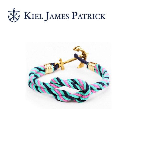 キールジェイムスパトリック KIEL JAMES PATRICK ロープ ブレスレット Triton Collection VANNER TC-1223-1025【即日発送】