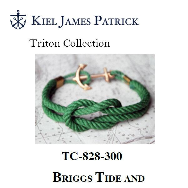 キールジェイムスパトリック KIEL JAMES PATRICK ロープ ブレスレット Triton Collection FRST TC-828-300【即日発送】