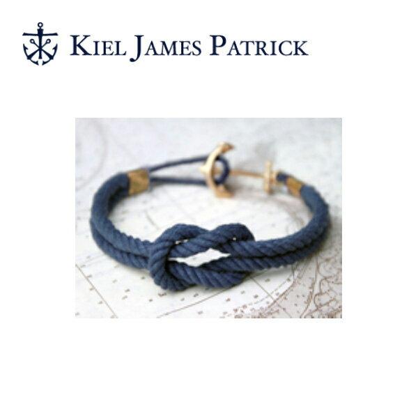 キールジェイムスパトリック KIEL JAMES PATRICK ロープ ブレスレット Triton Collection CAPE SPENCER APPROACHES(NVY) TC-829-400【即日発送】