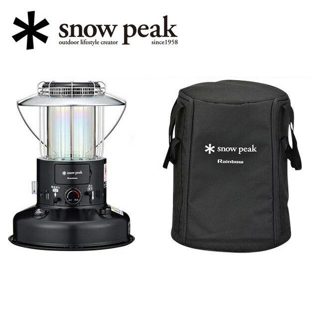 即日発送 【スノーピーク/snow peak】【専用の収納バッグセット】ストーブ/スノーピーク レインボーストーブ ブラック/KH-001BK BG-101【SP-STOV】【LITE】 お買い得!