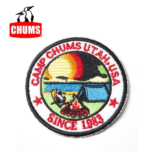 【チャムス/chums】 Wappen CHUMS Camp ワッペンチャムスキャンプ CH62-1056 お買い得!【即日発送】