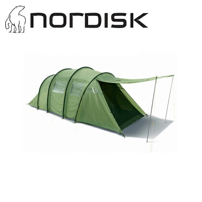 即日発送 【ノルディスク/NORDISK】 Reisa 6(レイサ 6) テント ツールーム型 6人用 キャンプ アウトドア Dusty Green 【TENTARP】【TENT】 お買い得!