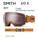 2017 スミス SMITH OPTICS ゴーグル I/O X Cargo Ignitor Mirror/Blue Sensor Mirror 【ゴーグル】 ...