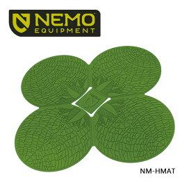 【NEMO Equipment/ニーモ・イクイップメント】HELIO MAT ヘリオマット(クローバー) NM-HMAT 【ZAKK】【TENTARP】【MATT】 マット シリコンラバー アウトドア キャンプ お買い得!【即日発送】