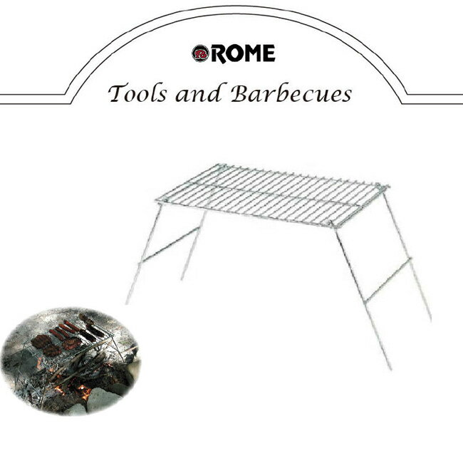 Rome Pie Iron/ローム パイオニアグリル Pioneer Camp Grill パイオニアキャンプグリル O-ROM-RO-128 【BBQ】【CZAK】【即日発送】