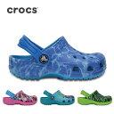 クロックス CROCS サンダル Kids' Classic Graphic Clog クラシック グラフィック クロッグ キッズ 204118 【靴】キッズ ...