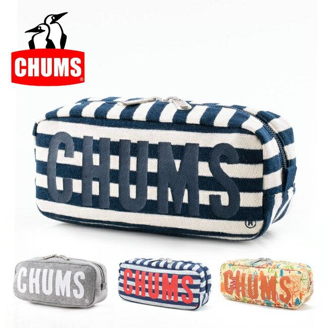 【メール便発送・代引き不可】チャムス chums ポーチ Boat Logo Pouch Sweat ボートロゴポーチスウェット CH60-2419 【雑貨】ペンケース 小物入れ