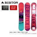 2018 BURTON バートン スノーボード 板 フィールグッド フライングV FEELGOOD FLYING V 【板】 WOMENS レディース
