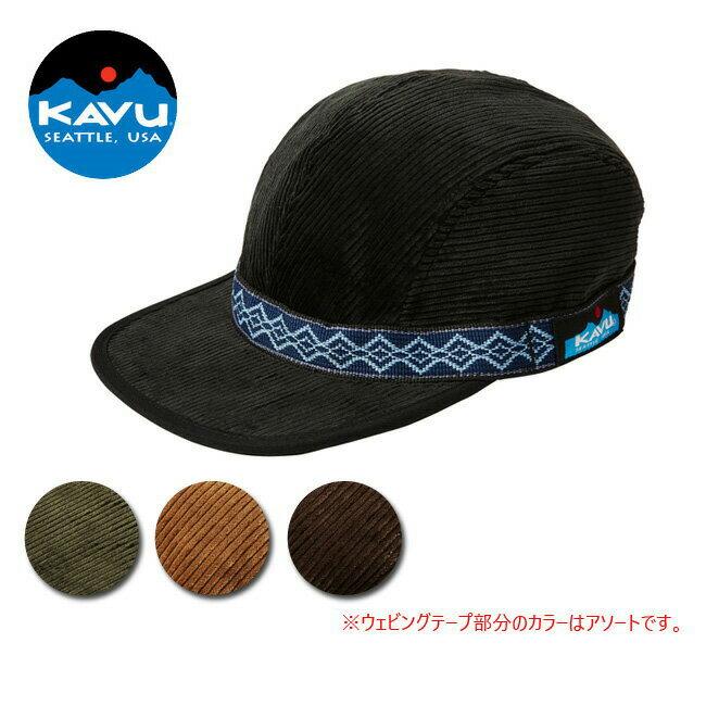 KAVU/カブー キャップ ストラップキャップ(コーディロイ) Strap Cap (Cord) 19820739 【帽子】メンズ コーディロイ