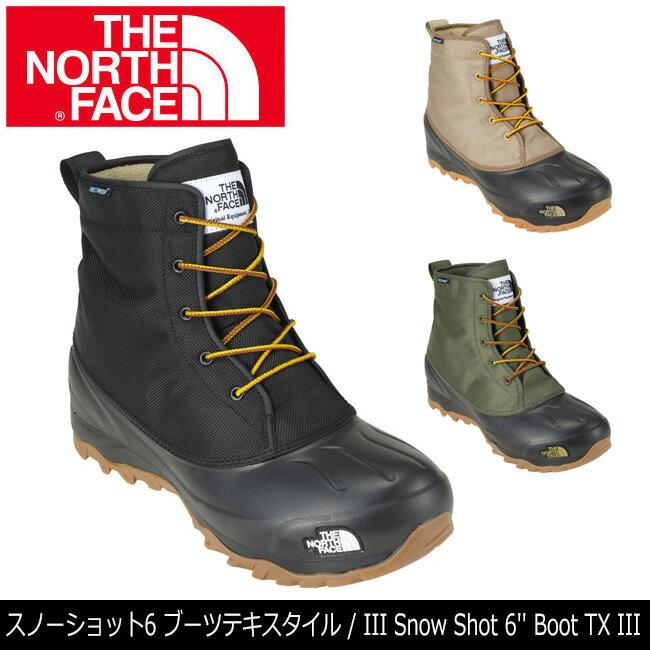 ノースフェイス THE NORTH FACE ブーツ スノーショット6 ブーツテキスタイルIII Snow Shot 6 Boot TX III NF51760 【NF-FOOT】