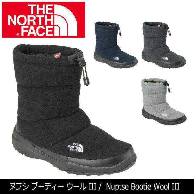 ノースフェイス THE NORTH FACE ブーティー ヌプシ ブーティー ウールIII Nuptse Bootie Wool III NF51786 【NF-FOOT】