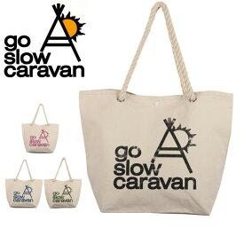 c15a28c721e7 go slow caravan/ゴースローキャラバン トートバッグ ロープ持ち手トートバッグ 大 385702
