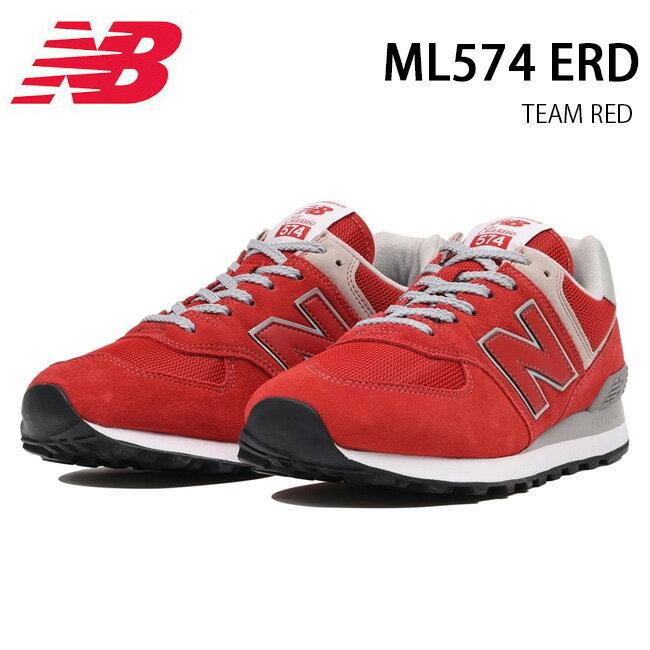 ニューバランス new balance スニーカー ML574 ERD TEAM RED 【靴】メンズ レディース 日本正規品【即日発送】【ワイズ:D】