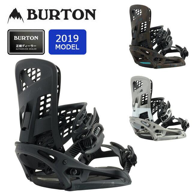 2019 BURTON バートン GENESIS EST 105631 【Channelボード専用】【ビンディング/スノーボード/日本正規品/メンズ】 【highball】