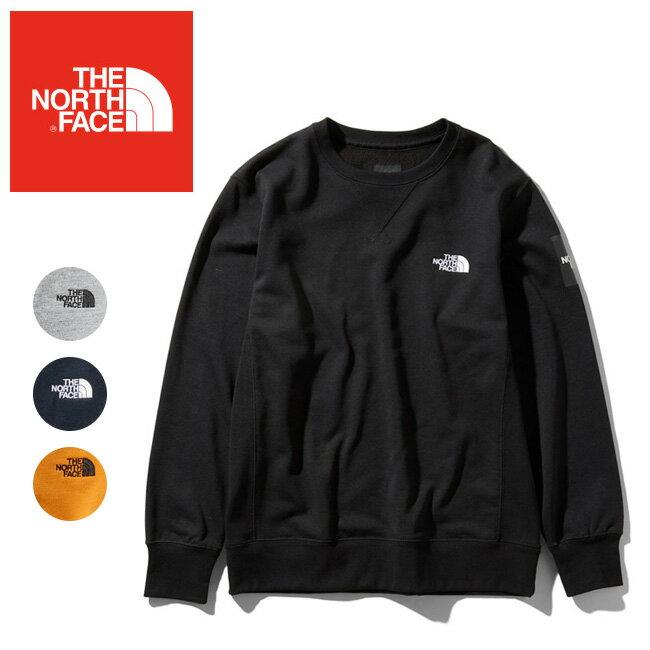 【期間限定エントリーでP10倍!2月21日 10時〜】THE NORTH FACE ノースフェイス Square Logo Crew スクエアロゴクルー(メンズ) NT11954 【日本正規品/トップス/スウェット/アウトドア/キャンプ】 【highball】