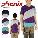 即日発送 【PHENIX/フェニックス】 Tシャツ TRAVERSE S/S PH312TS22 NV/PU/TQ お買い得!【t-cnr】