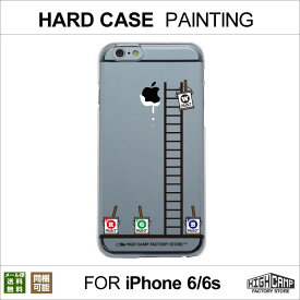 a7957a3e9b 【メール便送料無料】 iPhone6 iPhone6s クリアハードケース「PAINTING柄」HIGHCAMP