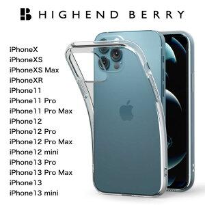 HighendberryハイエンドベリーiPhone1111Pro11ProMaxX/XSXRXSmaxケースストラップホール付きソフトTPUケース