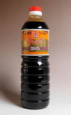カネヨ母ゆずり濃口醤油1000ml