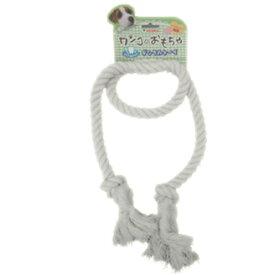 JOYSele デンタルトーイ ロングロープ ホワイト 100cm