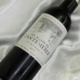 レ・アレ・ド カントメルル [2014]/[2015] ハーフボトルLes Allees de Cantemerle [2014/15年] 1/2フランスワイン/ボルドー/オー・メドック/赤ワイン/ミディアムボディ/ハーフワイン/375ml