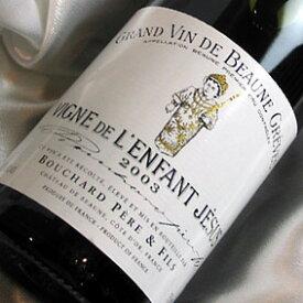 12月8日12時まで特別価格、最短12月11日発送(取り寄せ) ブシャール・ペール・エ・フィス ボーヌ・グレーヴ ヴィーニュ ド・ランファン・ジェズ [2010] フランスワイン/ブルゴーニュ/赤ワイン/ミディアムボディ/750ml