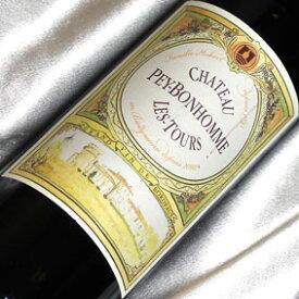 シャトー ペイボノム・レ・トゥール フランスワイン/ボルドー/赤ワイン/ミディアムボディ/750ml/ビオロジック 【自然派ワイン ビオワイン 有機ワイン 有機栽培ワイン bio オーガニックワイン】(有機農産物加工酒類)