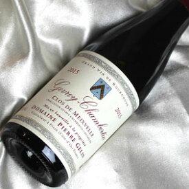 ピエール・ジェラン ジュヴレィ・シャンベルタン クロ・ドゥ・メーヴェル [2015] ハーフボトル Pierre Gelin Gevrey Chambertin Clos de Meixvelle [2015年] 1/2 フランスワイン/ブルゴーニュ/赤ワイン/ミディアムボディ/375ml