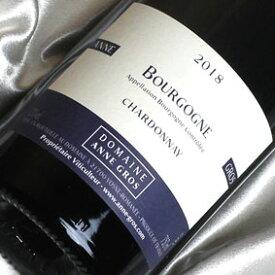 ドメーヌ・アンヌ・グロ ブルゴーニュ シャルドネ [2018] Bourgogne Chardonnay [2018年] フランス/ブルゴーニュ/白ワイン/辛口/750ml