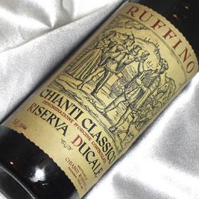[1974](昭和49年)キャンティ クラシコ・リゼルヴァ ドゥカーレ [1974] Chianti Classico Riserva [1974年] イタリアワイン/トスカーナ/赤ワイン/ミディアムボディ/750ml/ルフィーノ4 お誕生日・結婚式・結婚記念日のプレゼントに誕生年・生まれ年のワイン!